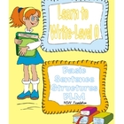 Level 0 Learn to Read and Write Simple Sentences Ebook - 30 pages