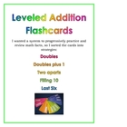 Leveled Addition Flashcards