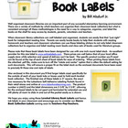 Leveled Library Book Labels