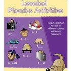 Leveled Phonics Activities - Catering for Different Abilit