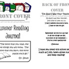 Leveled Summer Reading Journal--Books at F&P Levels J-N