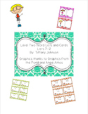 Leveled Word Lists and Flash Cards in Kid Theme