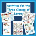 Levers Sorting Activities for the Three Classes of Levers