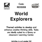 Library Activity Book: World Explorers