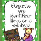 Library Cards in Spanish