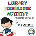 Library Icebreaker Activity - FREE