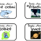 Library Labels for Classroom