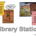 Library Station: Learning Center Label