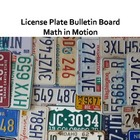 License Plate Bulletin Board