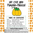 Life Cycle Unit: Pumpkin Palooza!!