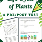 Life Cycle of Plants Science Test