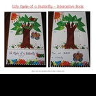 Life Cycle of a Butterfly Interactive Book, Printable in f
