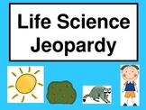 Life Science Jeopardy (Second Grade/Primary)