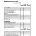 Life Skills Inventory and Checklist