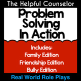 Social Skills: Problem Solving Role Playing Bundle