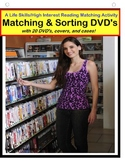 Life Skills for Special Education DVD Work Task Sort {Autism}