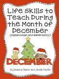 Life Skills to Teach During the Month of December