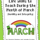 Life Skills to Teach During the Month of March