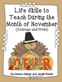 Life Skills to Teach During the Month of November