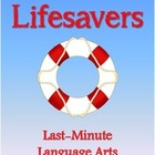 Lifesavers: Last-Minute Language Arts Lesson Plan Workshee