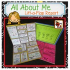 All About Me Lift-a-Flap Report
