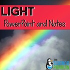 Light: Reflection and Refraction PowerPoint and Notes
