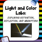 Light and Color: Reflection, Refraction and Absorption Labs