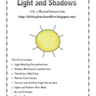 Light and Shadow - A Physical Science Unit for K-2