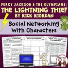 Lightning Thief Facebook Reading Comprehension Activity +rubric