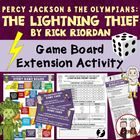 Lightning Thief Game Board: Excellent Novel Study Review Activity