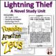 Lightning Thief Reading Comprehension Activity Guide
