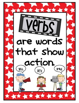 Lights, Camera, ACTION VERBS