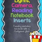 Lights, Camera, Reading Notebook Inserts