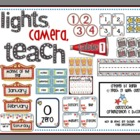 Lights, Camera, Teach! {Organization &amp; Decor}