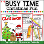 Lights ~ Christmas ~ Action {A No-Prep Christmas Activity Packet}