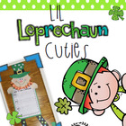 Lil Leprechaun Cuties Writing Craftivity &amp; Data Collection