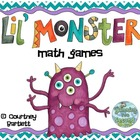 Lil Monsters math games