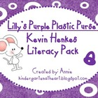 Lilly&#039;s Purple Plastic Purse Kevin Henkes Literacy Packet