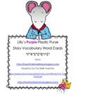 Lilly's Purple Plastic Purse Vocabulary FREEBIE