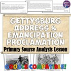 Lincoln's Gettysburg Address & Emancipation Proclamation P
