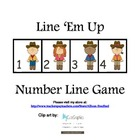 Line &#039;Em Up Number Line Game 1-20