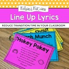 Line Up Lyrics - Classroom Management Tool