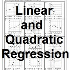 Line of Best Fit and Quadratic Regression