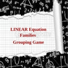 Linear Equation Families Grouping Game