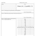 Linear Equations Cooperative Learning Activity