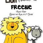 Lion and Lamb {March Weather FREEBIE}