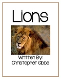 Lions a Nonfiction Text