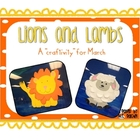 Lions and Lambs - A Craft Activity for March