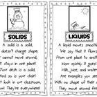 Liquid and Solid Snowman Poems