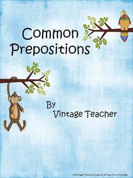 List of Common Prepositions